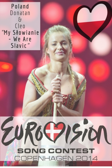 "Eurovision Song Contest 2014: Poland - ""My Słowianie - We Are Slavic"" By Donatan & Cleo"
