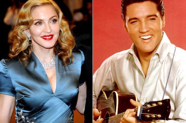 Madonna and Elvis Presley Billboard
