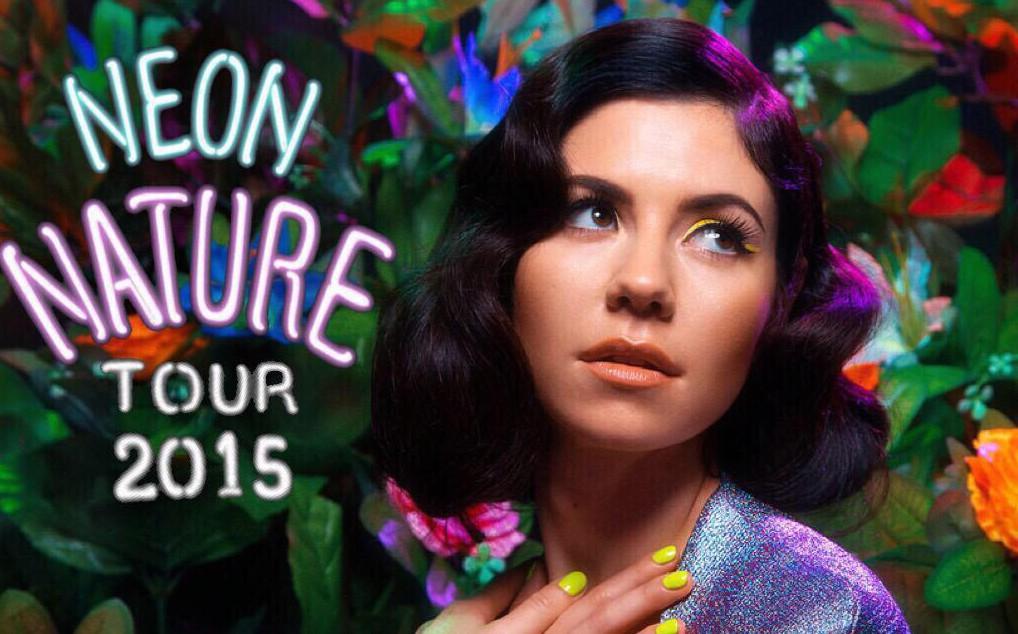 It's Finally Here – Marina And The Diamonds Neon Nature Tour!