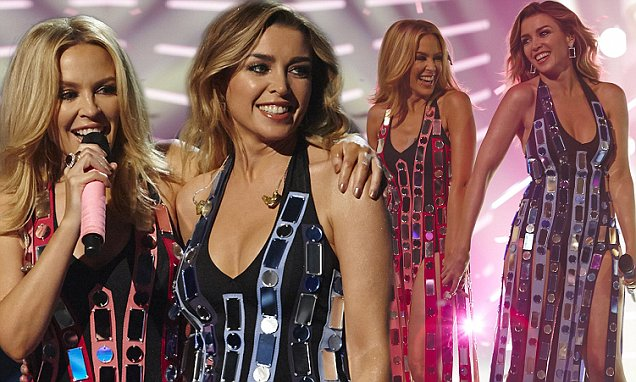 The Minogue Sisters 'Sleigh' Their Way