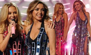 Daily Mail Kylie and Dannii Minogue X Factor Australia