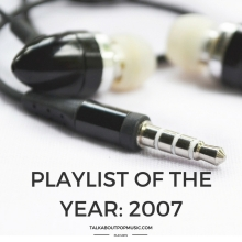 Playlist Of The Year 2007