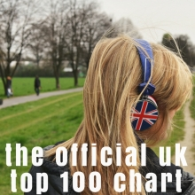 the official UK top 100 chart
