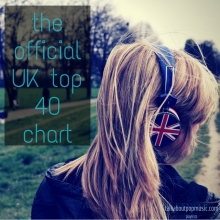 the official UK top 40 chart