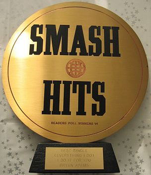 Smash Hits Poll Winner's Party