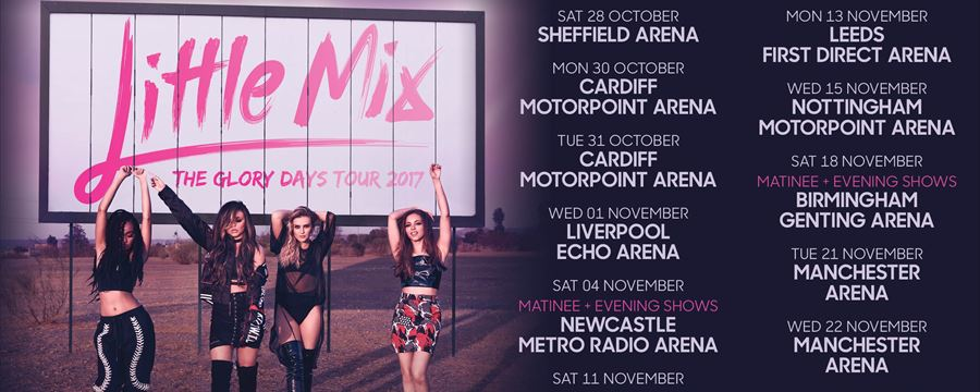 Little Mix Glory Days Tour