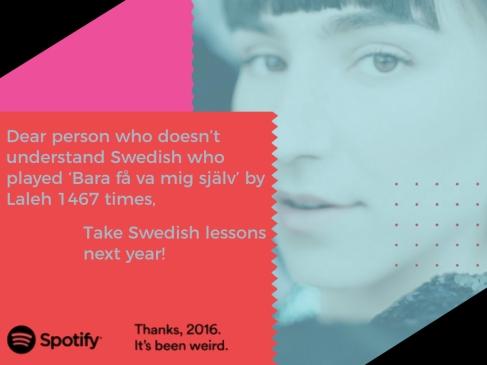 Spotify Advert