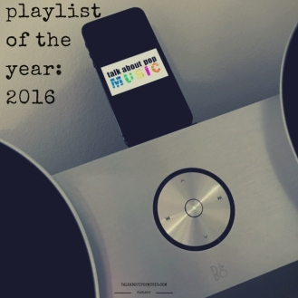 Playlist Of The Year 2016