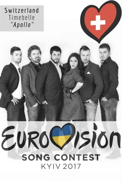 """Eurovision Song Contest 2017: Switzerland - """"Apollo"""" By Timebelle"""