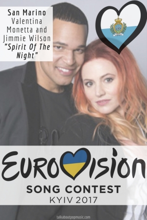 "Eurovision Song Contest 2017: San Marino - ""Spirit of the Night"" By Valentina Monetta and Jimmie Wilson"