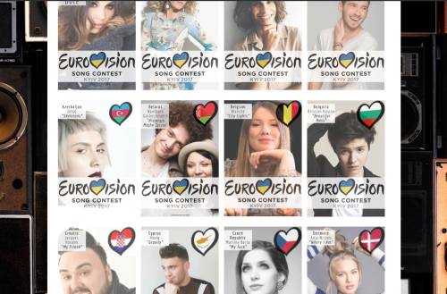 Eurovision Song Contest 2017 Countries & Songs