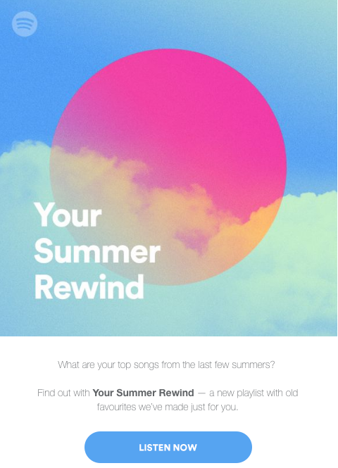 Spotify Summer Rewind
