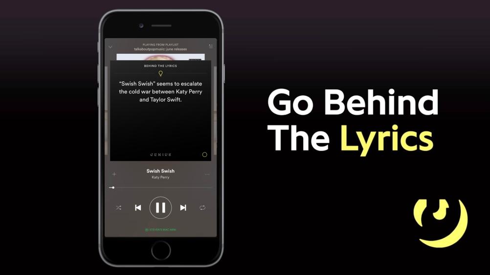 SPOTIFY: Behind The Lyrics