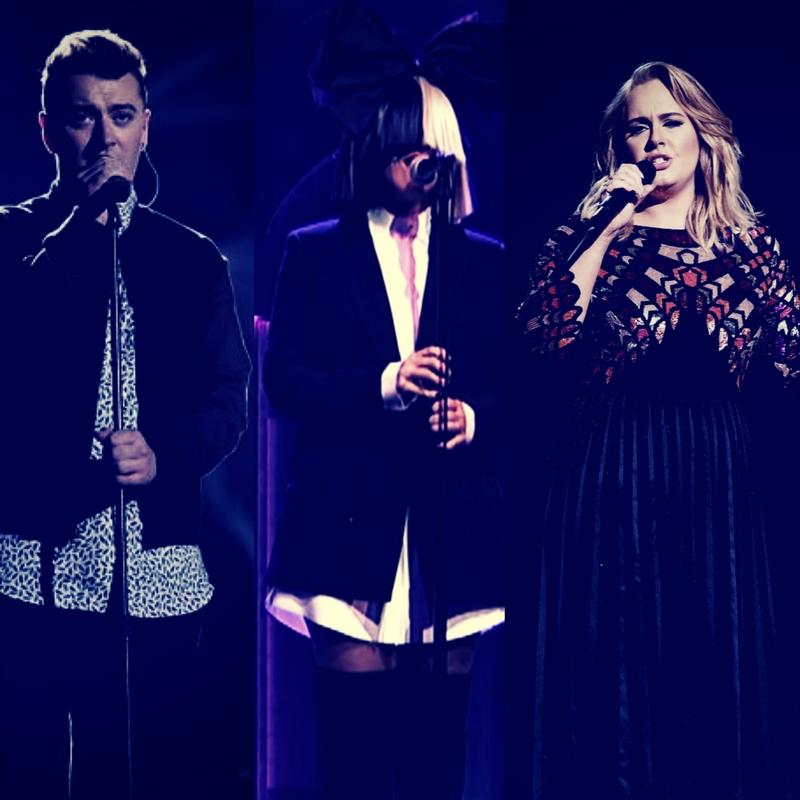 Adele, Sia & Sam Smith