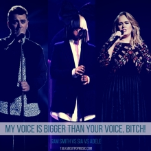 My Voice Is Bigger Than Your Voice