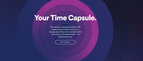 PLAYLIST: Your Spotify Time Capsule