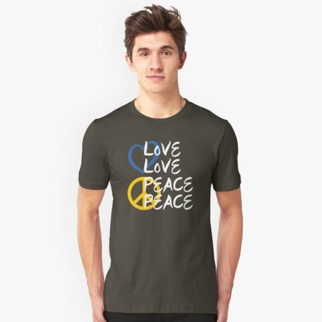 Love Love Peace Peace T-Shirt