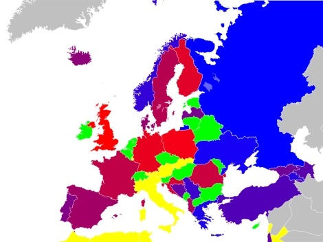 EUROVISION SONG CONTEST 2018: Countries & Songs - Keeping On Track