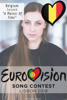 EUROVISION SONG CONTEST 2018: BELGIUM - 'A Matter Of Time' By Sennek