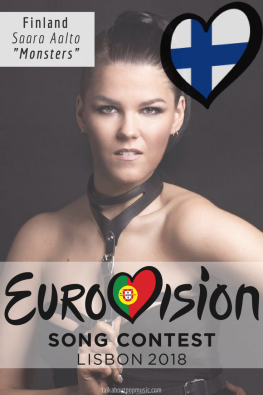 EUROVISION SONG CONTEST 2018: FINLAND - 'Monsters' By Saara Aalto
