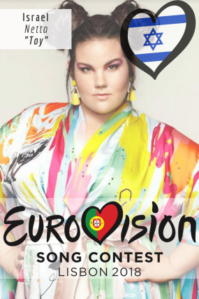 EUROVISION SONG CONTEST 2018: ISRAEL- 'Toy' By Netta