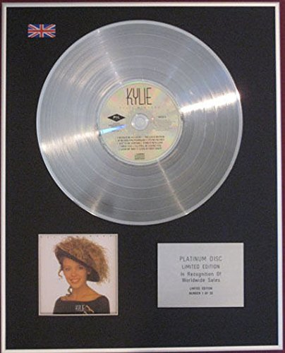 kylie minogue platinum disc