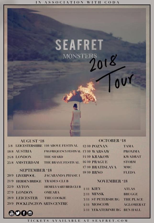 Seafret tour