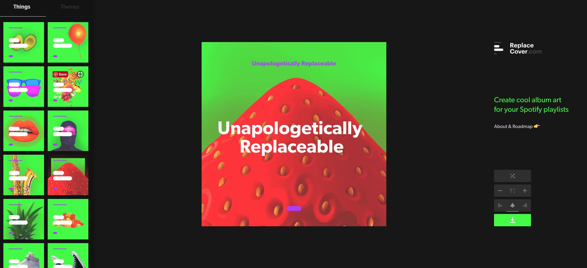 SPOTIFY: A Spotify Playlist Cover Designer – Talk About Pop