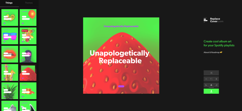 Spotify Playlist Cover Designer
