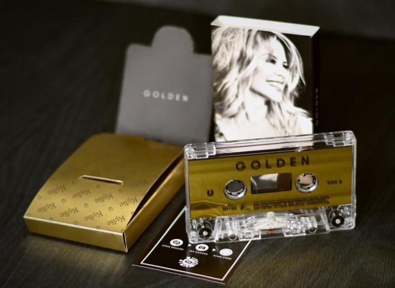 Kylie Golden cassette