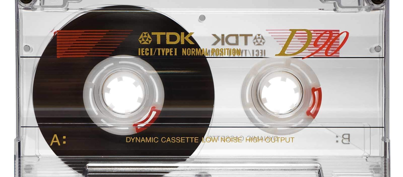 Audio Cassette Front