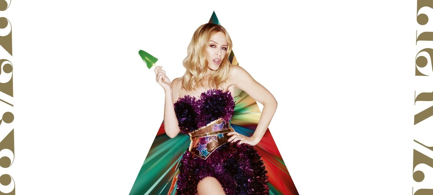 Kylie Christmas Snow Queen