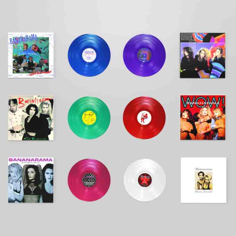 Bananarama coloured vinyl