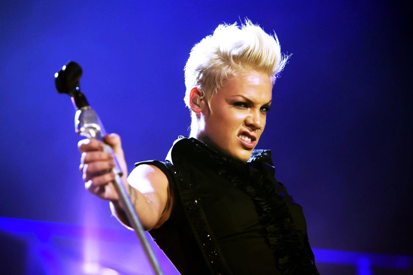 THEN & NOW: P!nk