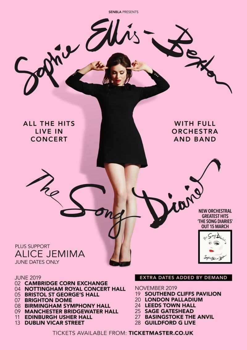 Sophie Ellis Bextor 2019 tour