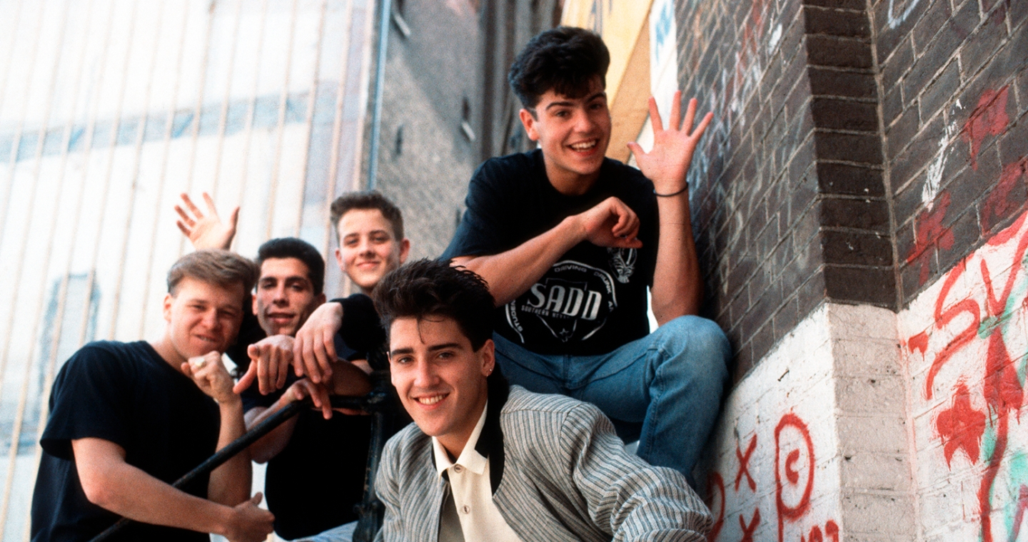 New Kids On The Block 1989