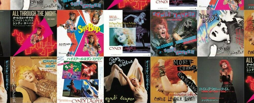 Cyndi Lauper Japanese Singles Collection