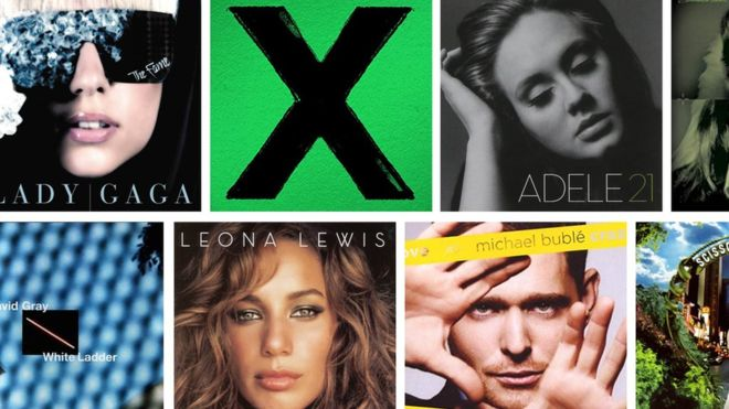 NEWS: The Best Selling Albums Of The 21st Century