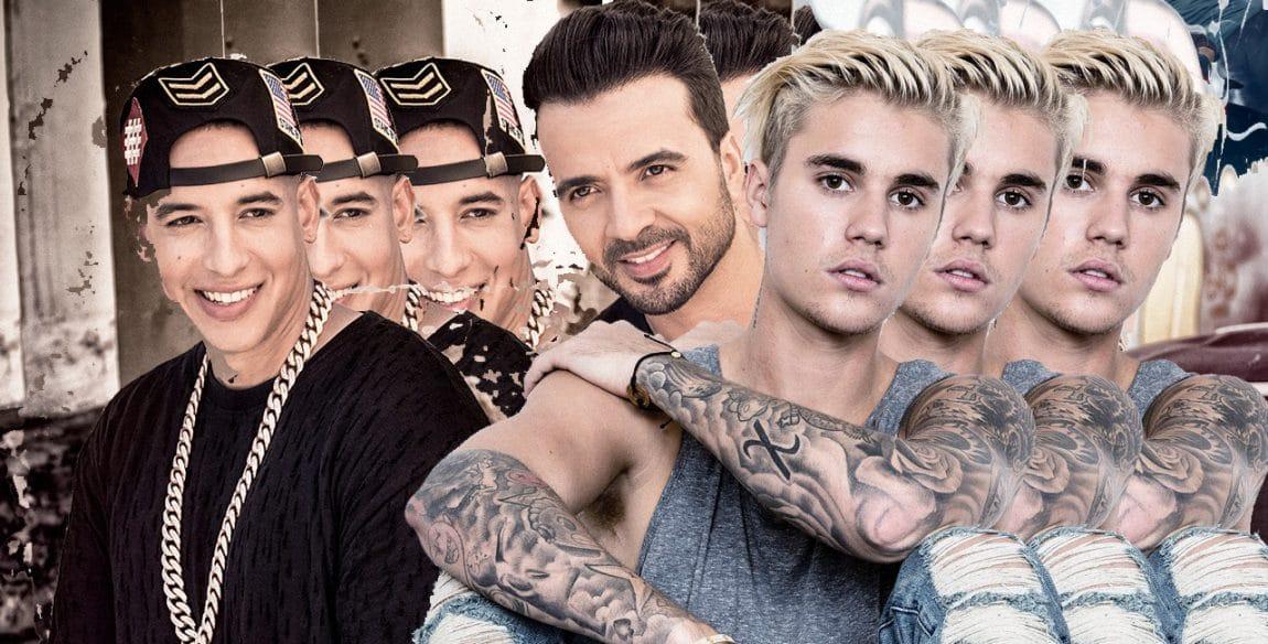 Luis Fonsi and Daddy Yankee Justin Bieber
