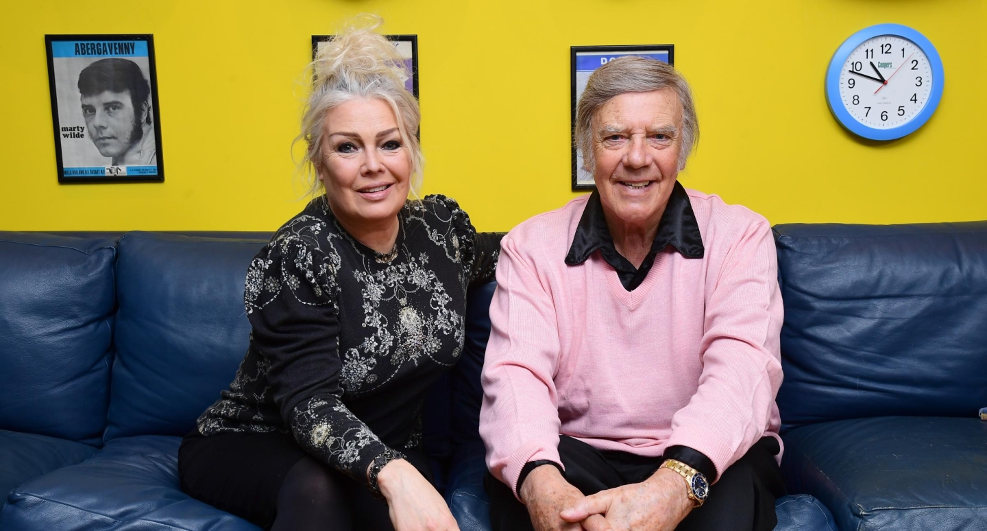 Marty and Kim Wilde