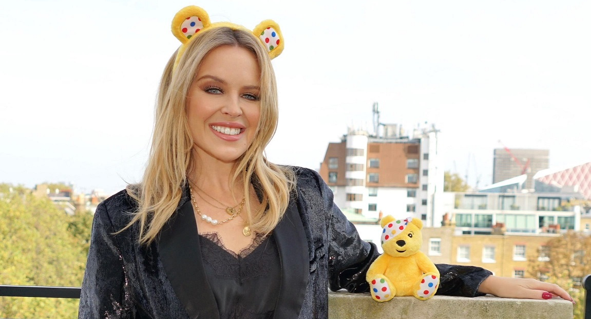Kylie children In Need