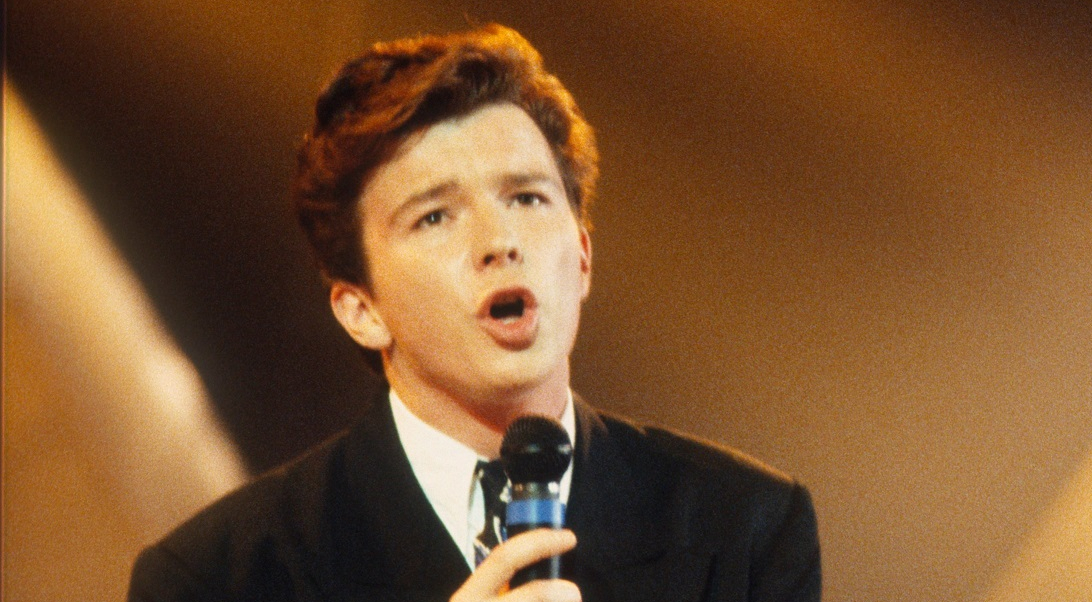 Rick astley 1987